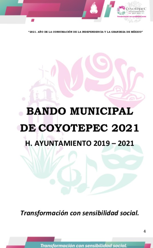 Bando Municipal 2021